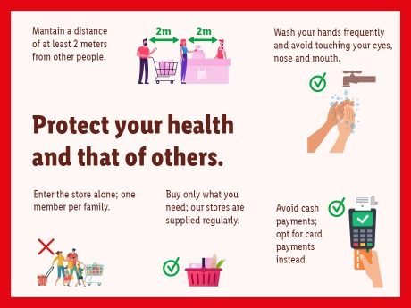 Protect your health and that of others