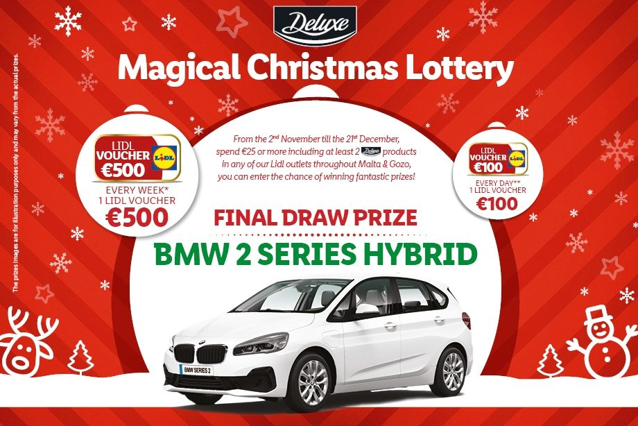 Deluxe Magical Christmas Lottery